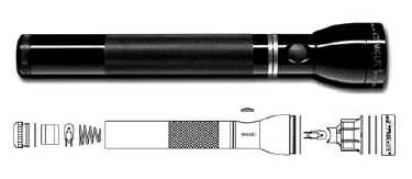 MagLite Rechargeable Flashlight  (click to enlarge)